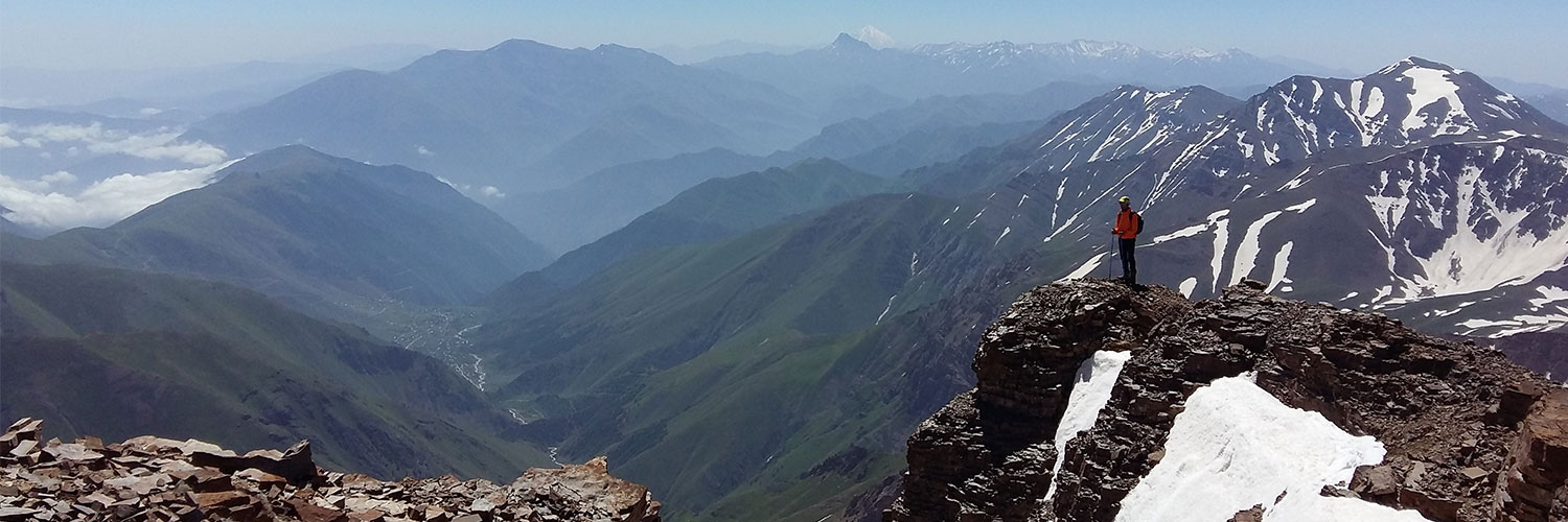 Iran Alamkouh 4860m | second highest peak in Iran