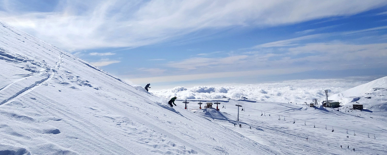 Ski touring Dizin resort/Damavand 5610m<